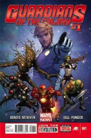 Guardians Of The Galaxy #1 First Print (2013) Marvel comic book Movie